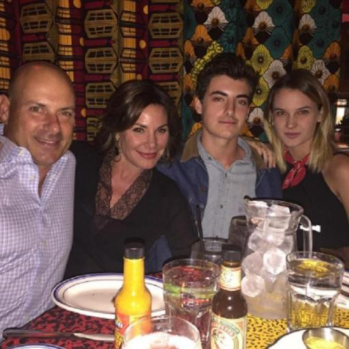 rhonyc luann tom her son